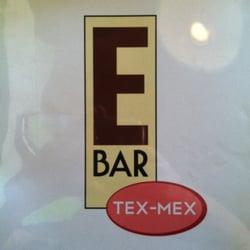 E Bar Tex Mex logo