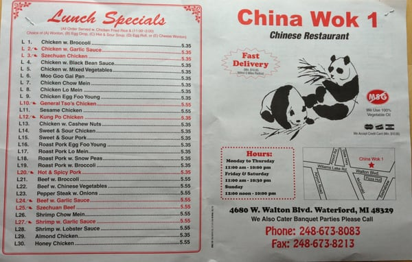 Chinese food coupons near me