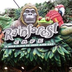 Rainforest Cafe Menu Sunrise Fl