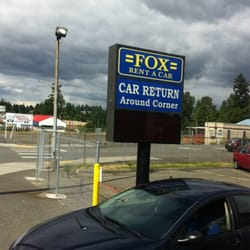 Fox rental car seatac reviews