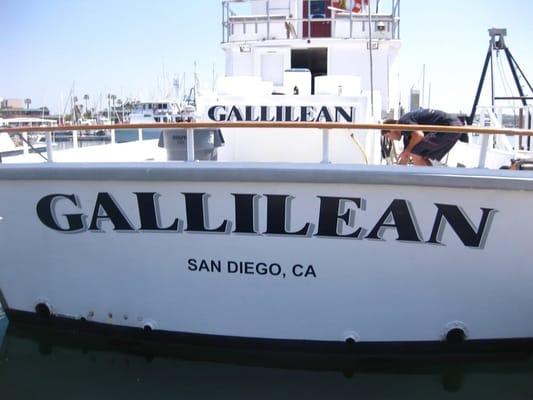 Gallilean sportfishing fleetridge san diego ca yelp for Fishing in san diego