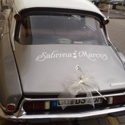 Hochzeitsauto, Frankfurt am Main, Hessen
