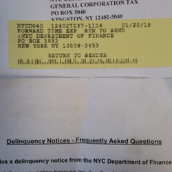 New york city department of finance parking violations new york