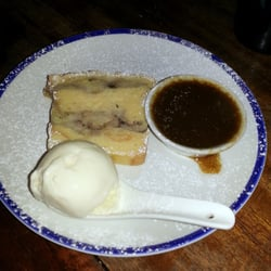 Rum banana sticky toffee bread pudding,…