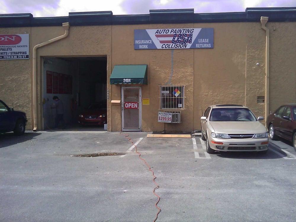 Auto Body Shop Near Me >> Auto Painting USA - Body Shops - Miami, FL - Reviews - Photos - Yelp