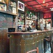The bar (minus the cat)