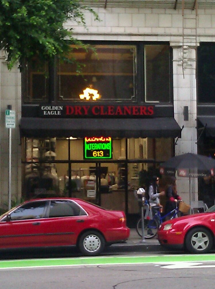 Golden Eagle Dry Cleaning Shop