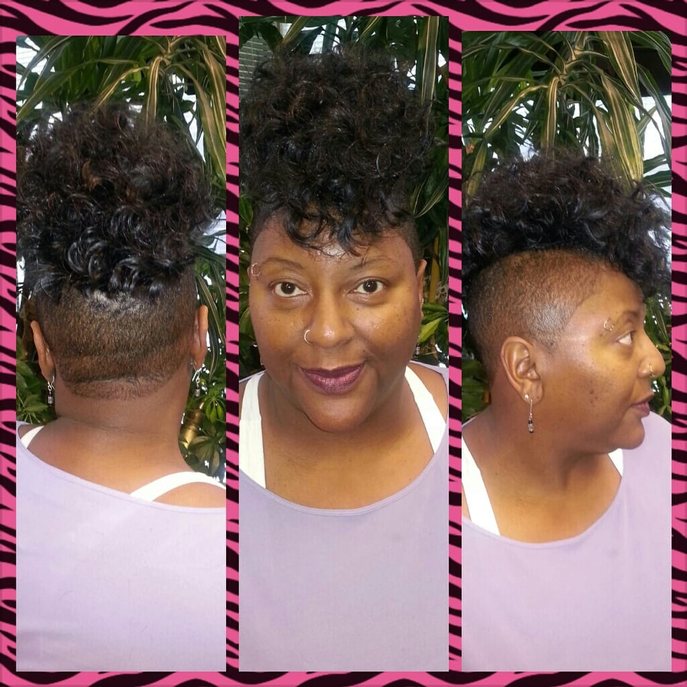 ... By Jovann - San Francisco, CA, United States. Sew in weave mohawk