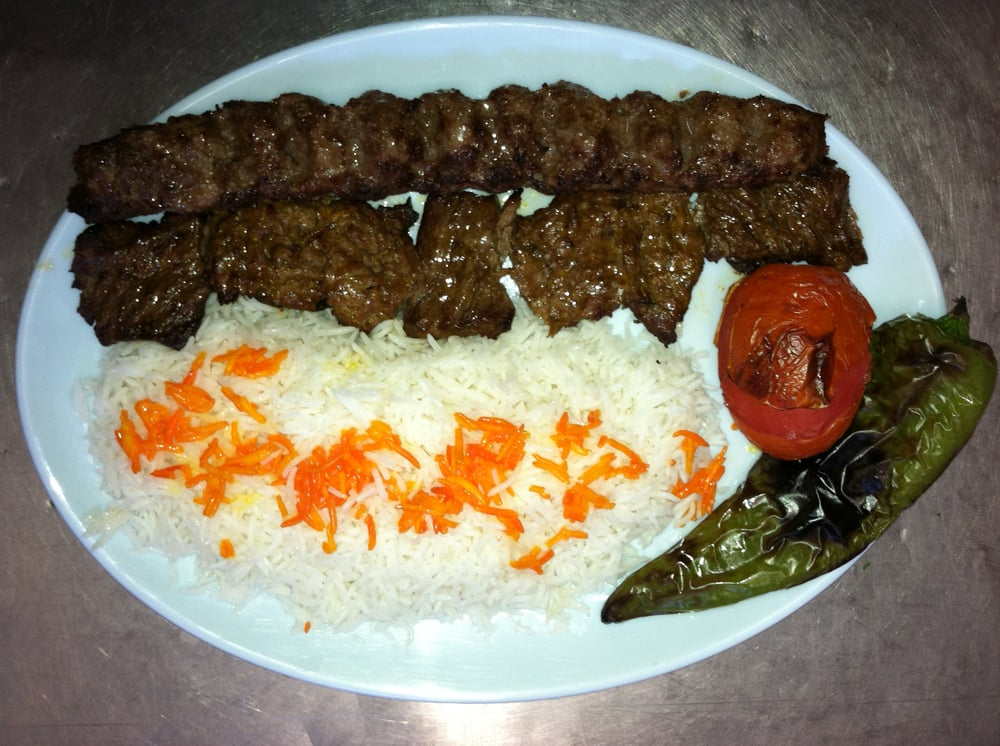 Beef Kabobs Plate Soltani Plate Ground Beef