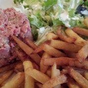 La Fée Verte - Paris, France. Beef tartare