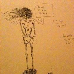 Freie Kunst im Mädchenklo