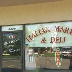 Enricos Italian Sausage & Market logo