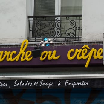 Marche ou Crêpe - Paris, France