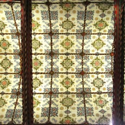Nave ceiling, design by C E Kempe