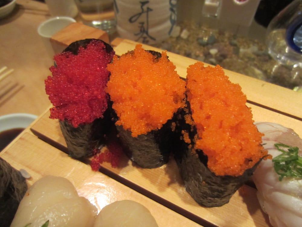 Tobiko Nigiri Sakura Japanese Restaurant