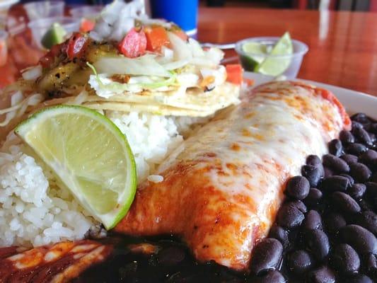 Baja fish tacos santa ana ca united states yelp for Fish taco menu