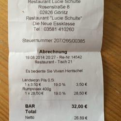 Restaurant Lucie Schulte und Weinhaus Krüger, Görlitz, Sachsen