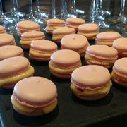 Raspberry & Lemon Macarons