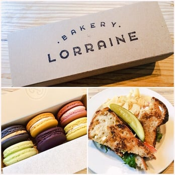 Bakery Lorraine The Bl Blt And Some Delicious Macarons San Antonio Tx United States