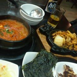 Soupe de Kimchi et Porc sauté