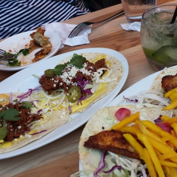Paladar latin kitchen rum bar 194 photos bars for Fish taco bethesda md