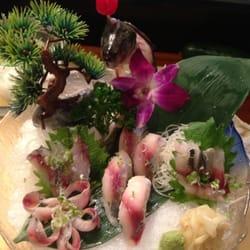Chopstix Gourmet and Sushi Bar - special aji fish form Japan - Raleigh, NC, Vereinigte Staaten