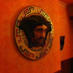 Wand im Restaurant C.