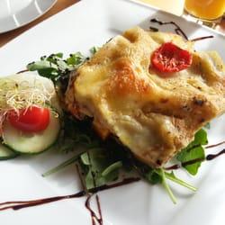 Lasagne mit Spinat und Kürbis