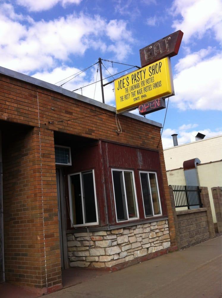 Ironwood (MI) United States  City new picture : Joe's Pasty Shop Fast Food Ironwood, MI Yelp