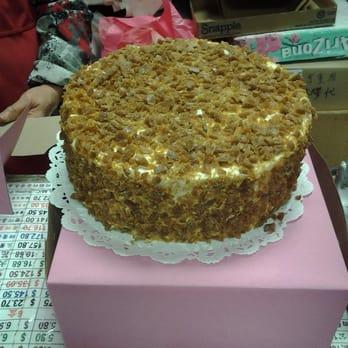 Coffee Crunch Cake San Francisco Chinatown