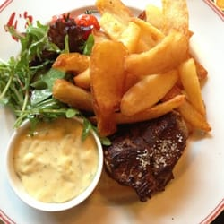 Grilled beef with frites