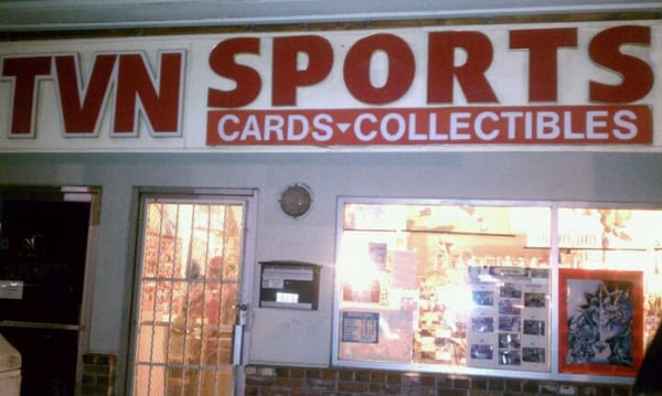 Tvn sports cards collectables fresno ca yelp for Business cards fresno ca