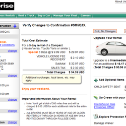 Enterprise Car Rental Canada Phone Number