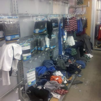 Old Navy Clothing Store - Schaumburg, IL, United States. Colorful tanks