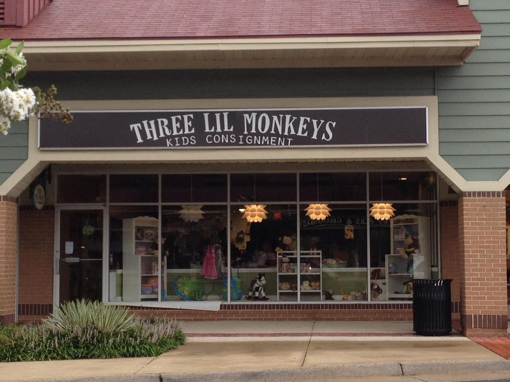 Three Lil Monkeys Kids Consignment Closed Used Vintage Consignment Sterling Va