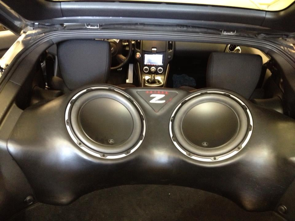 2012 Nissan 370z Custom Fiberglass Enclosure Yelp