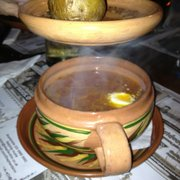 Raugintu kopustu sriuba sauerkraut soup