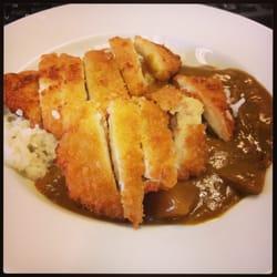 Katsu curry take-away (I put it in a…