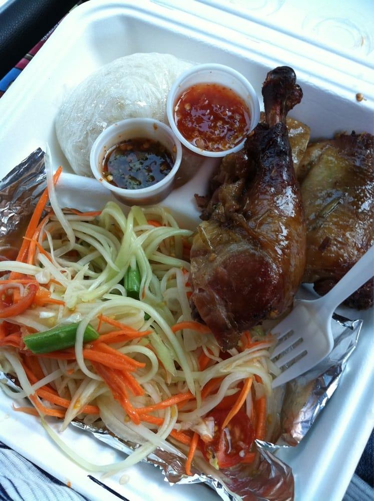 Somtum gai yang closed 40 photos thai restaurants for Authentic thai cuisine portland or