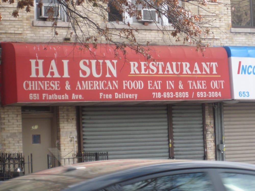Hai Sun Chinese Restaurant Prospect Lefferts Gardens