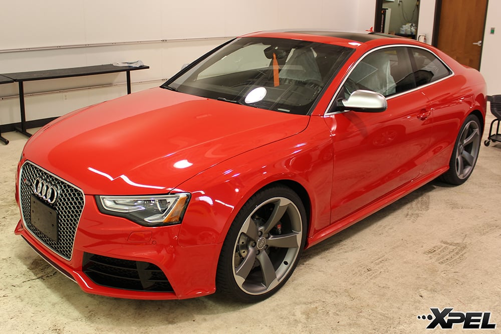 Audi RS5 with XPEL clear bra | Yelp