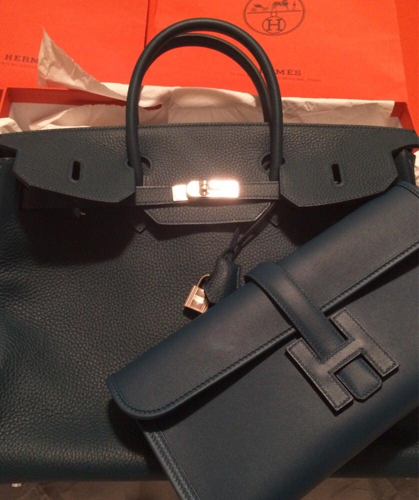 herme bags - Loving my new blue Colvert Birkin \u0026amp; Jige Elan 29 clutch bag ...