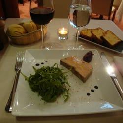 Le Yacht 55 - Paris, France. Foie gras au piment d'Espelette