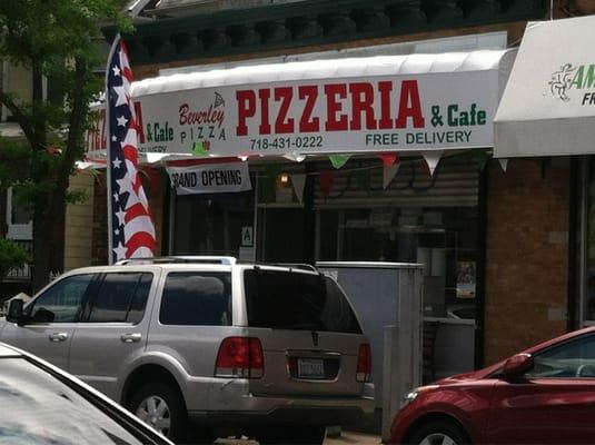 Beverley Pizza Cafe Brooklyn Ny