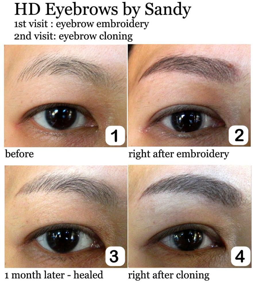 Eyebrow Embroidery Specialist  29 Photos  Makeup Artists