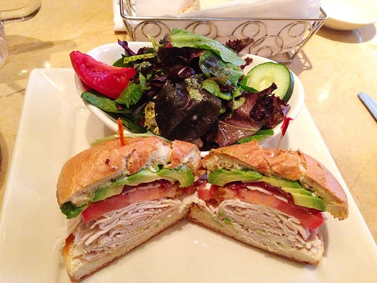 ... Salad Sandwich Cheesecake Factory Turkey avocado sandwich on the