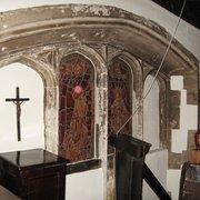Tudor Window in Laud's Pew, with…