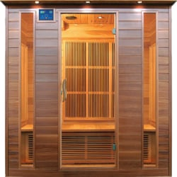 4 person infrared sauna cedar wood