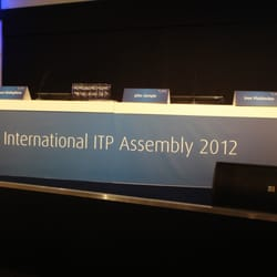 Internationales ITP Assembly Treffen…