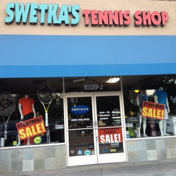Swetka's Tennis Shop - Mountain View, CA,    F